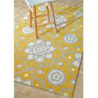 Plymouth Yellow Indoor/Outdoor Area Rug Rug Size: Rectangle 7'6