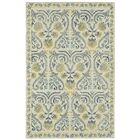 Locust Grove Hand-Tufted Beige/Yellow Area Rug Rug Size: Rectangle 8' x 10'