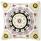 Portobello Road Henna Cotton Throw Pillow Size: 20