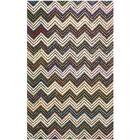 Hand-Tufted Ivory/Black Area Rug Rug Size: Rectangle 5' x 8'