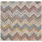 Hand-Tufted Beige/Gray Area Rug Rug Size: Square 4'
