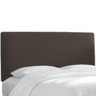 Florus Slipcover Upholstered Panel Headboard Upholstery: Cindersmoke, Size: California King