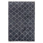 Lakeview Hand-Knotted Navy Area Rug Rug Size: 5' x 8'