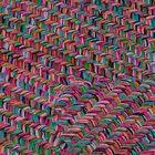 Huntington Hand-Woven Pink/Green Area Rug Rug Size: Rectangle 5' x 8'