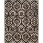 Luoma Brown Area Rug Rug Size: Rectangle 8' x 10'