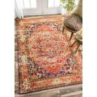 Seshadri Orange Area Rug Rug Size: Rectangle 10' x 14'