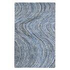 Mekdad Hand-Tufted Blue Area Rug Rug Size: Rectangle 8' x 10'