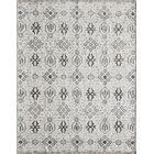 Zoey Hand-Knotted Gray Area Rug Rug Size: Rectangle 8' x 11'