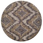 Ambrose Hand-Tufted Brown/Gray Area Rug Rug Size: Rectangle 7'6