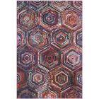 Chana Pink/Purple Area Rug Rug Size: Rectangle 5'1