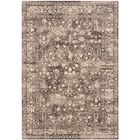 Watts Brown/Cream Area Rug Rug Size: Rectangle 3'3