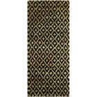 Pinehurst Black/Gold Area Rug Rug Size: Runner 2'6