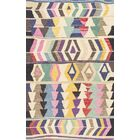 Foti Hand-Tufted Pink/Beige Area Rug Rug Size: Rectangle 4' x 6'