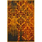 Yareli Orange/Burgundy Area Rug Rug Size: Rectangle 10' x 13'