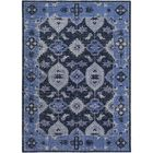 Drachten Hand-Knotted Navy/Dark Blue Area Rug Rug Size: Rectangle 8' x 11'
