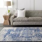 Hillsby Oriental Blue Area Rug Rug Size: Rectangle 7'10