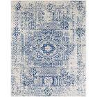 Hillsby Blue/Beige Area Rug Rug Size: Rectangle 7'10