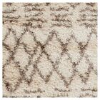Sina Hand Woven Beige Area Rug Rug Size: Rectangle 9' x 12'