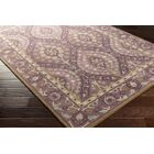 Wagner Hand-Tufted Dark Purple Area Rug Rug Size: Rectangle 4' x 6'