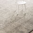 Chaudiere Silver/Ivory Area Rug Rug Size: Runner 2'2