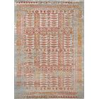 Daisie Blue/Brown Area Rug Rug Size: Rectangle 5'3