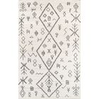 Allens Hand-Knotted Natural Area Rug Rug Size: Rectangle 5' x 8'