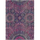 Arabi Purple/Pink Area Rug Rug Size: Rectangle 5'3
