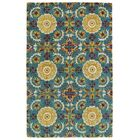 Powers Lake Turquoise Area Rug Rug Size: Rectangle 9' x 12'