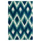 Powers Lake Blue & Green Area Rug Rug Size: Rectangle 9' x 12'