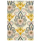 Rachida Hand Tufted Gray/Yellow Area Rug Rug Size: Rectangle 9' x 12'