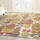 Maffei Multi Colored Area Rug Rug Size: Rectangle 9' x 12'