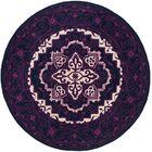 Io Hand-Tufted Purple Area Rug Rug Size: Rectangle 4' x 6'