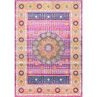 Braiden Pink Area Rug Rug Size: Rectangle 4' x 6'