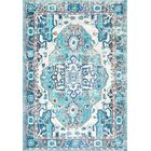 Rosa Blue Area Rug Rug Size: Rectangle 4' x 6'