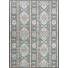 Septfontaines Teal/Beige Area Rug Rug Size: Rectangle 7'11