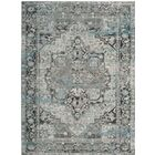 Norwood Oriental Blue/Gray Area Rug Rug Size: Rectangle 8' x 10'