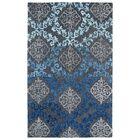 Paita Grey/Blue Area Rug Rug Size: Rectangle 9'6