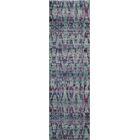 Denissa Ikat Blue Area Rug Rug Size: Rectangle 3'11