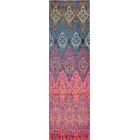 Denissa Red Area Rug Rug Size: Rectangle 7'10