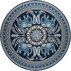 Aderdour Blue Area Rug Rug Size: Rectangle 8' x 10'