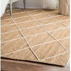 Quincy Hand-Woven Natural Area Rug Rug Size: Rectangle 5' x 8'