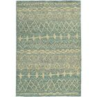 Marquis Blue/Beige Area Rug Rug Size: Rectangle 4' x 5'9