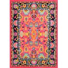 Provincetown Pink Area Rug Rug Size: Rectangle 6'7