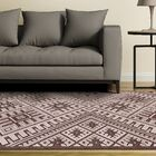 Vivienne Coffee/Brown Area Rug Rug Size: Rectangle 7'6