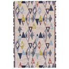 Pacifica Hand-Tufted Light Pink/Gray Area Rug Rug Size: Rectangle 8' x 11'