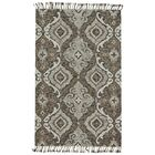 Fairhaven Hand-Tufted Ivory/Gray Area Rug Rug Size: Rectangle 5' x 8'
