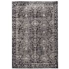 Diana Charcoal/Gray Area Rug Rug Size: Rectangle 5' x 8'