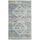 Amanda Hand-Loomed Blue/Red Area Rug Rug Size: Runner 2'3