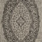 Myers Gray/Black Indoor/Outdoor Area Rug Rug Size: Square 6'7