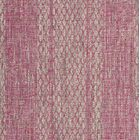 Myers Light Gray/Fuchsia Indoor/Outdoor Area Rug Rug Size: Square 6'7